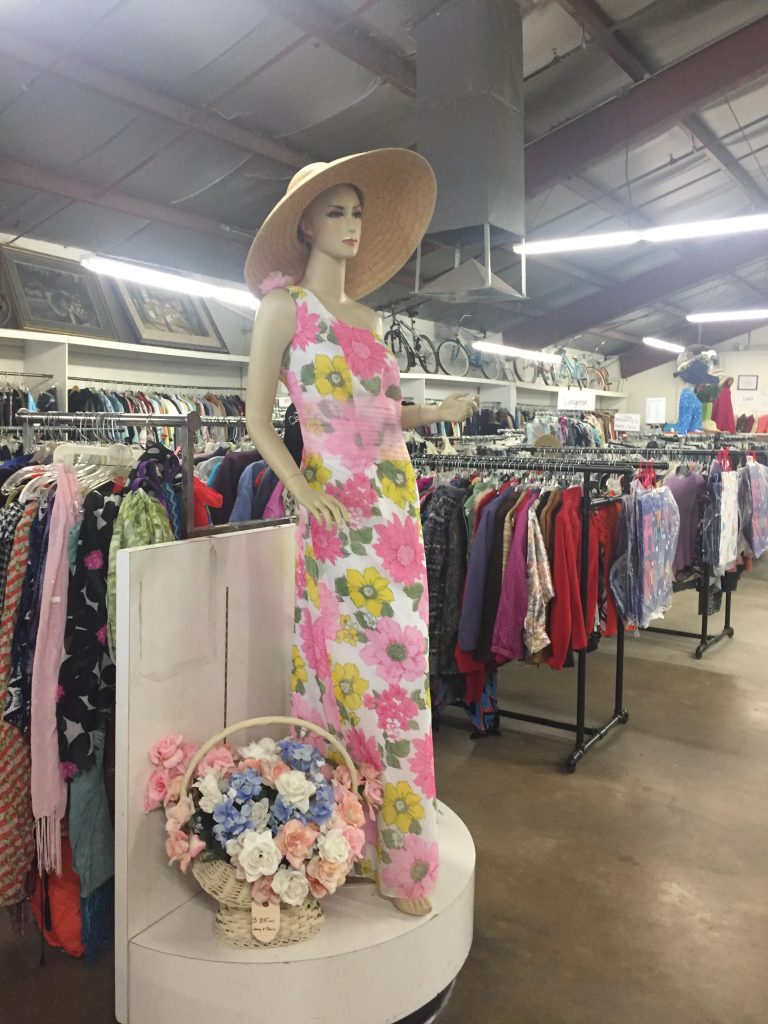 Women's Dresses for sale at the St. Vincent de Paul Thrift Store in Bakersfield, CA