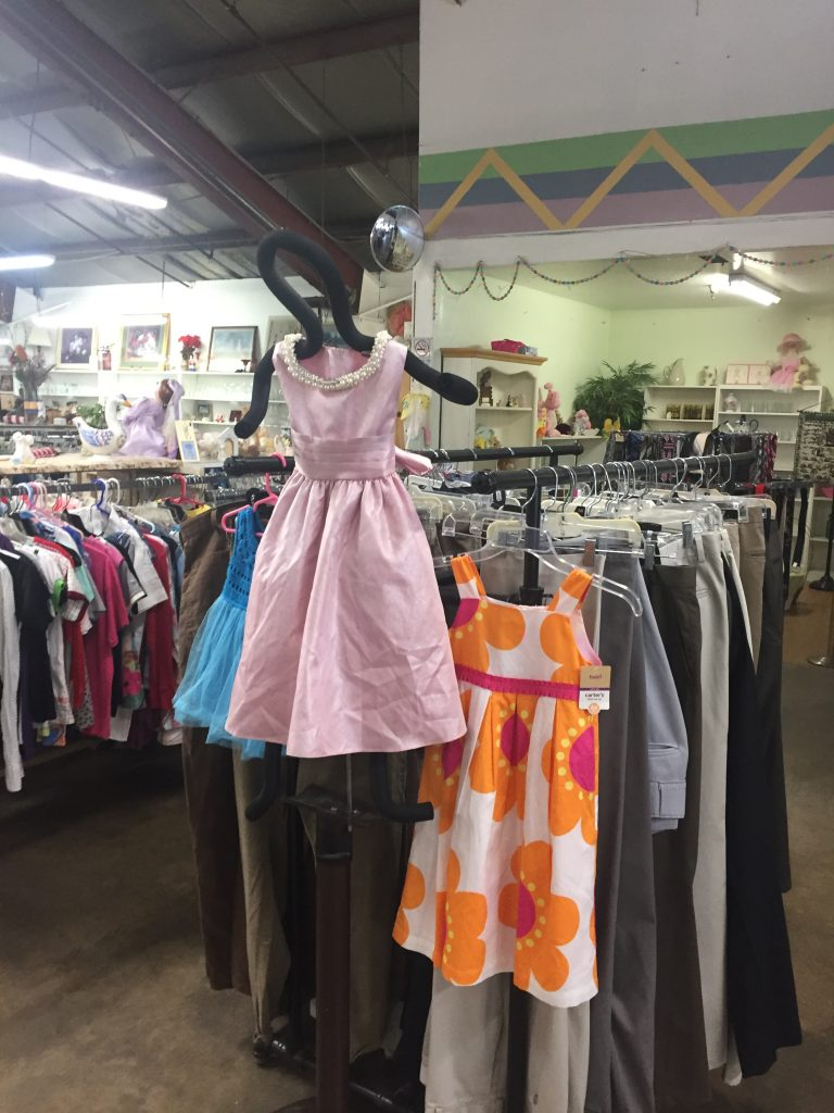 Children's Clothes for sale at the St. Vincent de Paul Thrift Store in Bakersfield, CA