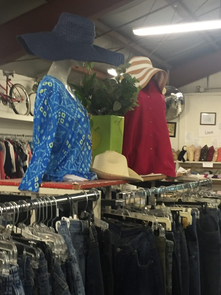 Women's Clothes for sale at the St. Vincent de Paul Thrift Store in Bakersfield, CA